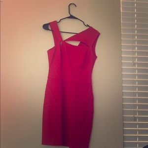 Guess by Marciano bodycon dress (S), cherry red